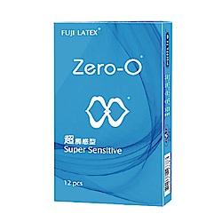 FUJI LATEX ZERO-0 零零系列 超觸感型 衛生套 保險套 12入