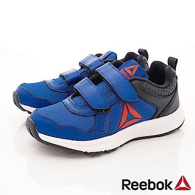 Reebok頂級童鞋 雙絆帶避震運動款 FI215深藍(中小童段)