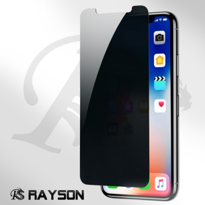 iphone XS Max 防窺 透明 非滿版 半屏 手機 9H 保護貼