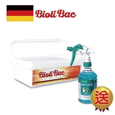 (買1送1)德國 BioliBac得立潔 神奇酵素除油粉 400g 送 除臭清新噴霧