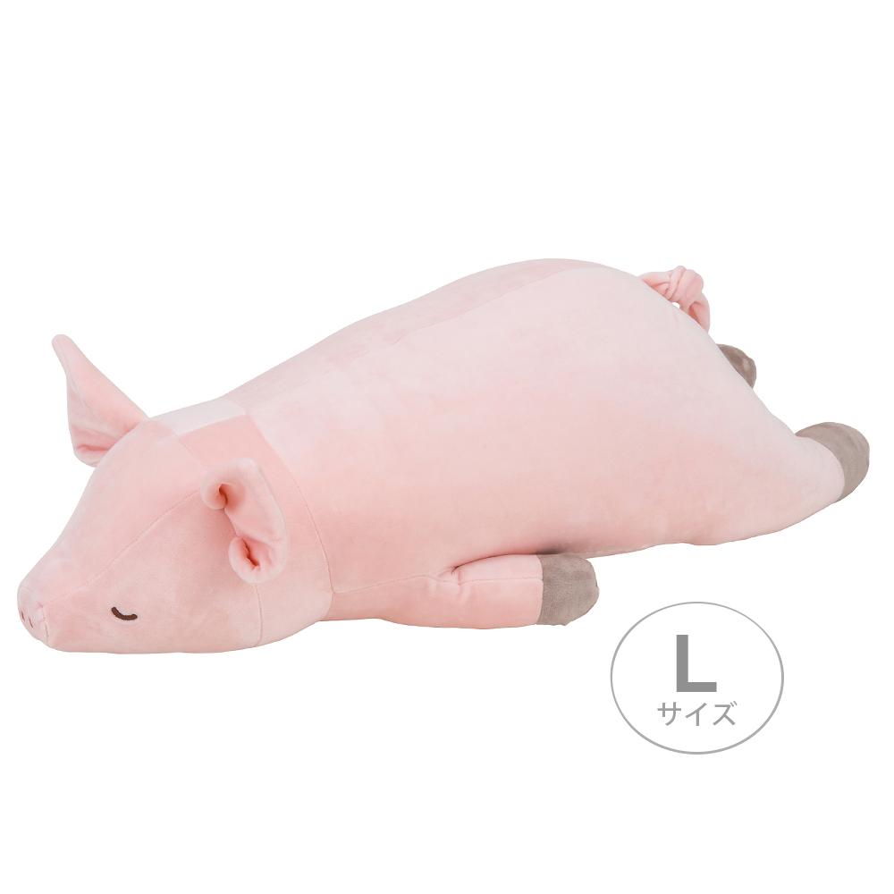 NEMU NEMU 粉紅豬大抱枕