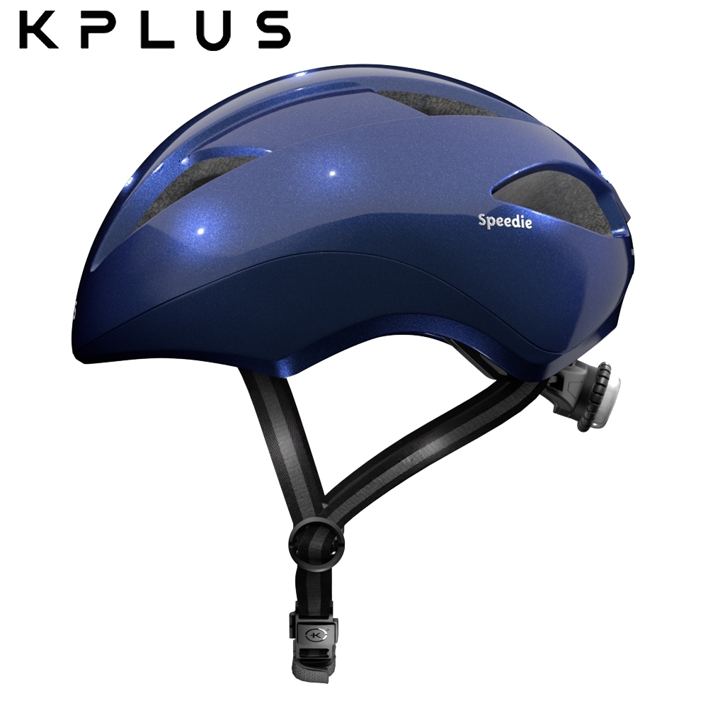 KPLUS 兒童休閒運動安全帽 SPPEDIE素色版-藍