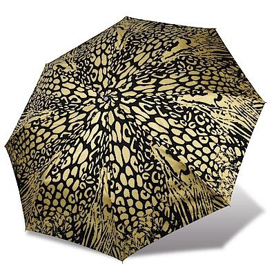 RAINSTORY 黃金虎紋抗UV雙人自動傘
