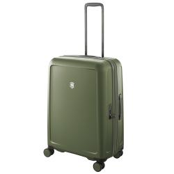 VICTORINOX 瑞士維氏CONNEX 可擴充26吋硬殼行李箱-橄欖綠