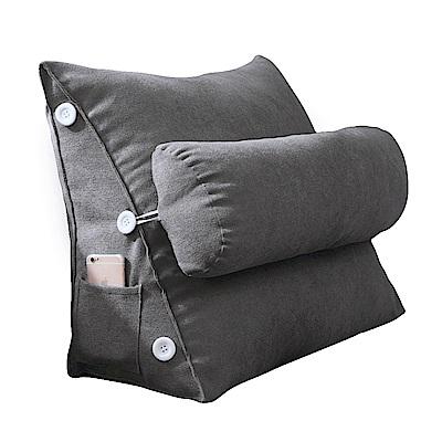 專櫃級3D舒適三角靠墊/韓國絨款/多色選擇/靠枕/抱枕/坐墊