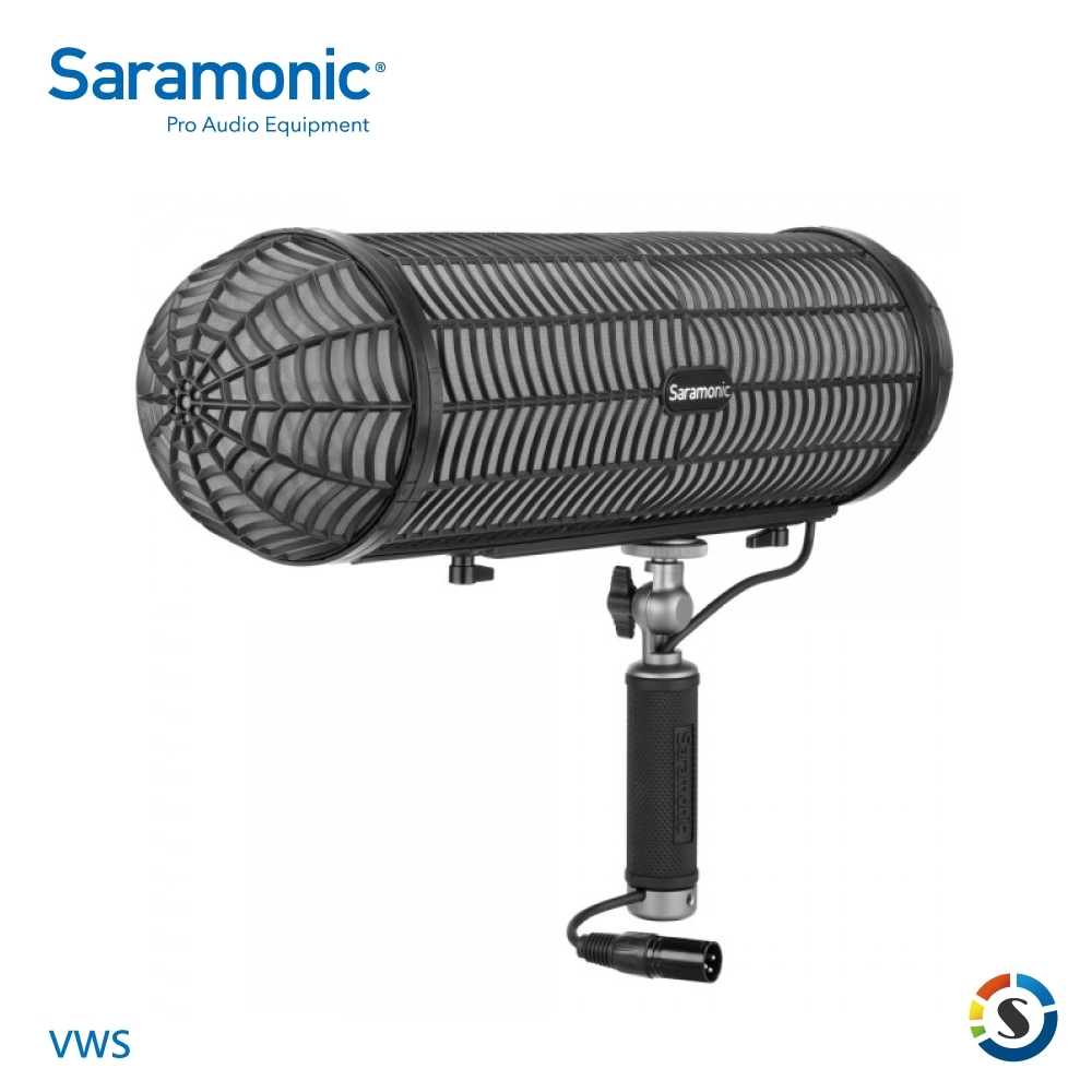 Saramonic楓笛 VWS 麥克風防風防震懸掛支架系統