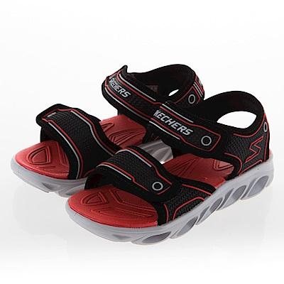 SKECHERS 男童 涼拖鞋系列HYPNO SPLASH-90522LBKRD