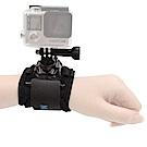 TELESIN GoPro 和 運動相機專用 360度轉向 手腕帶 支架