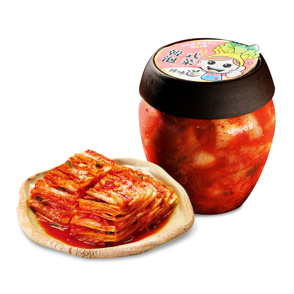 【韓味不二】韓味道-泡菜切片(700g/瓶)