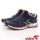 Vitro韓國專業運動品牌-EZ LIGHT-NAVY頂級專業慢跑鞋-藍(男)