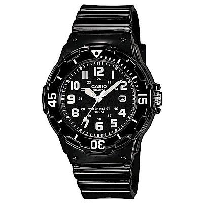 CASIO 渲染漸層設計迷你潛水風指針運動錶(多品任選)-32mm