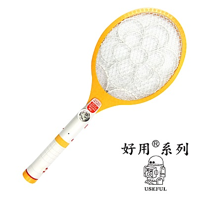 《USEFUL好用》 三層/充電式/手電筒電蚊拍 UL-EA311