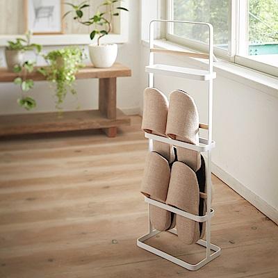 日本 YAMAZAKI-tosca手提式室內拖鞋架★日本百年品牌★居家收納/鞋架/拖鞋架