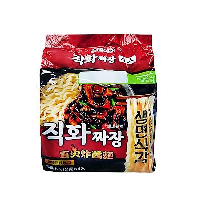 韓味不二 pulmuone 直火炸醬麵(108.1gx4入)