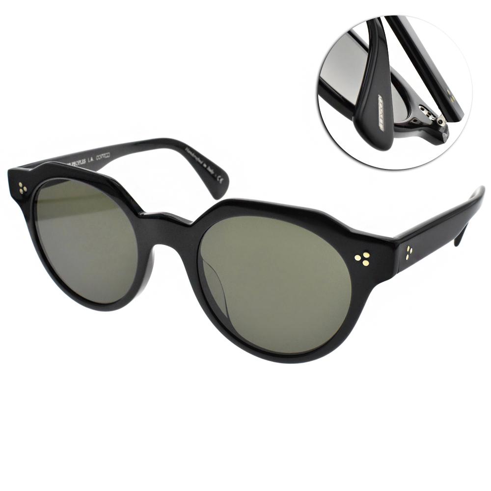 OLIVER PEOPLES太陽眼鏡 復古經典/黑 #IRVEN 100571
