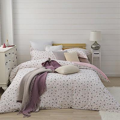 BBL Premium 甜謐花氛100%精梳棉印花兩用被床包組(雙人)