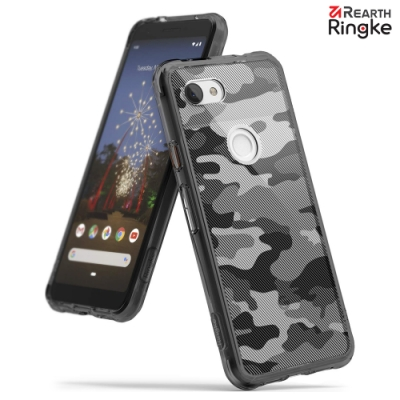 【Ringke】Pixel 3a [Fusion Design]透明背蓋防撞手機殼