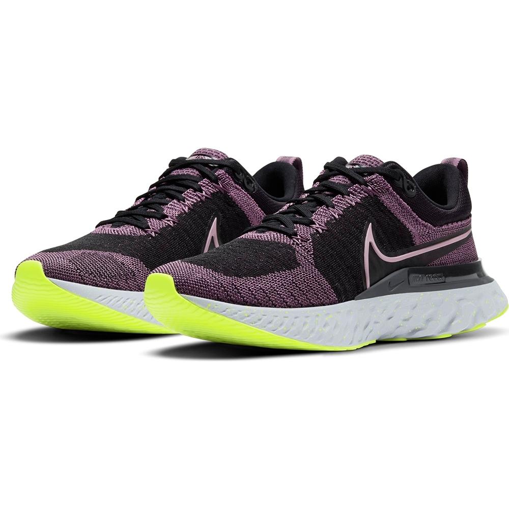 NIKE 慢跑鞋 緩震 訓練 健身 運動鞋 女鞋 黑 CT2423-500 React Infinity Run
