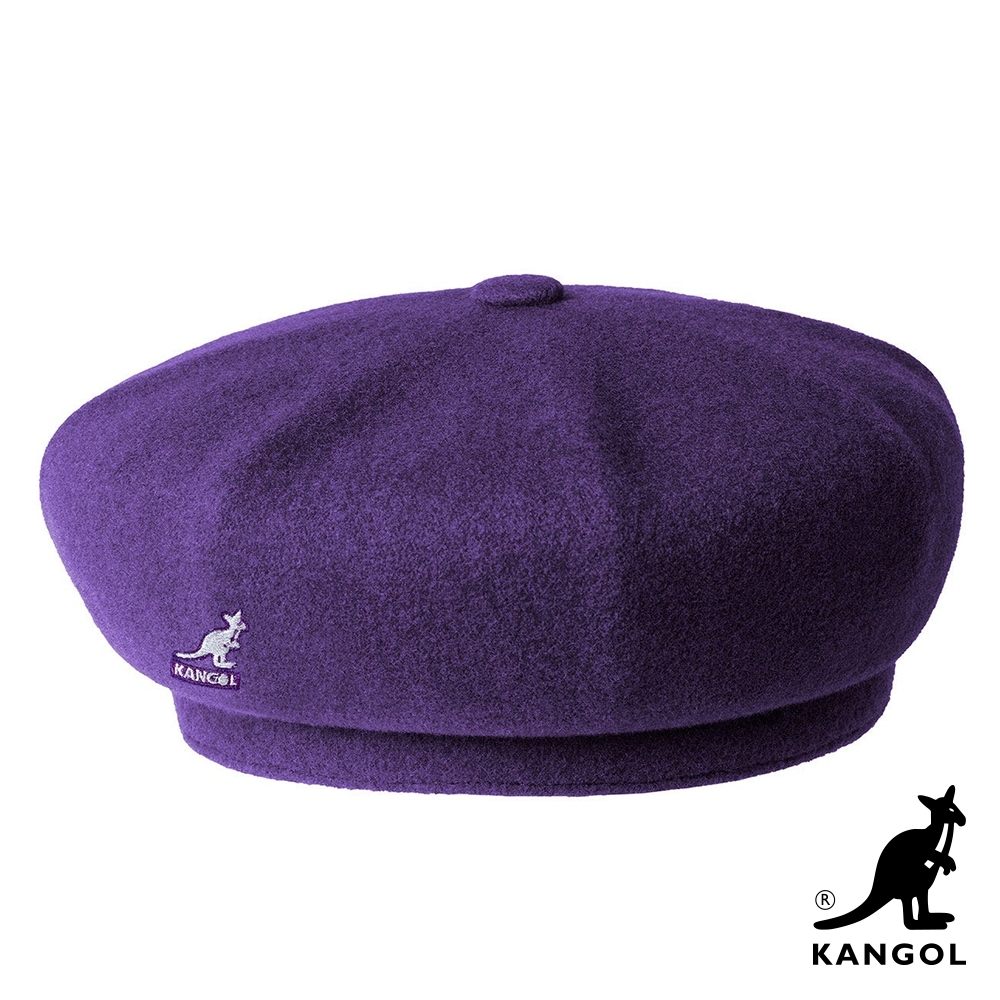 KANGOL-WOOL JAX貝蕾帽-紫色