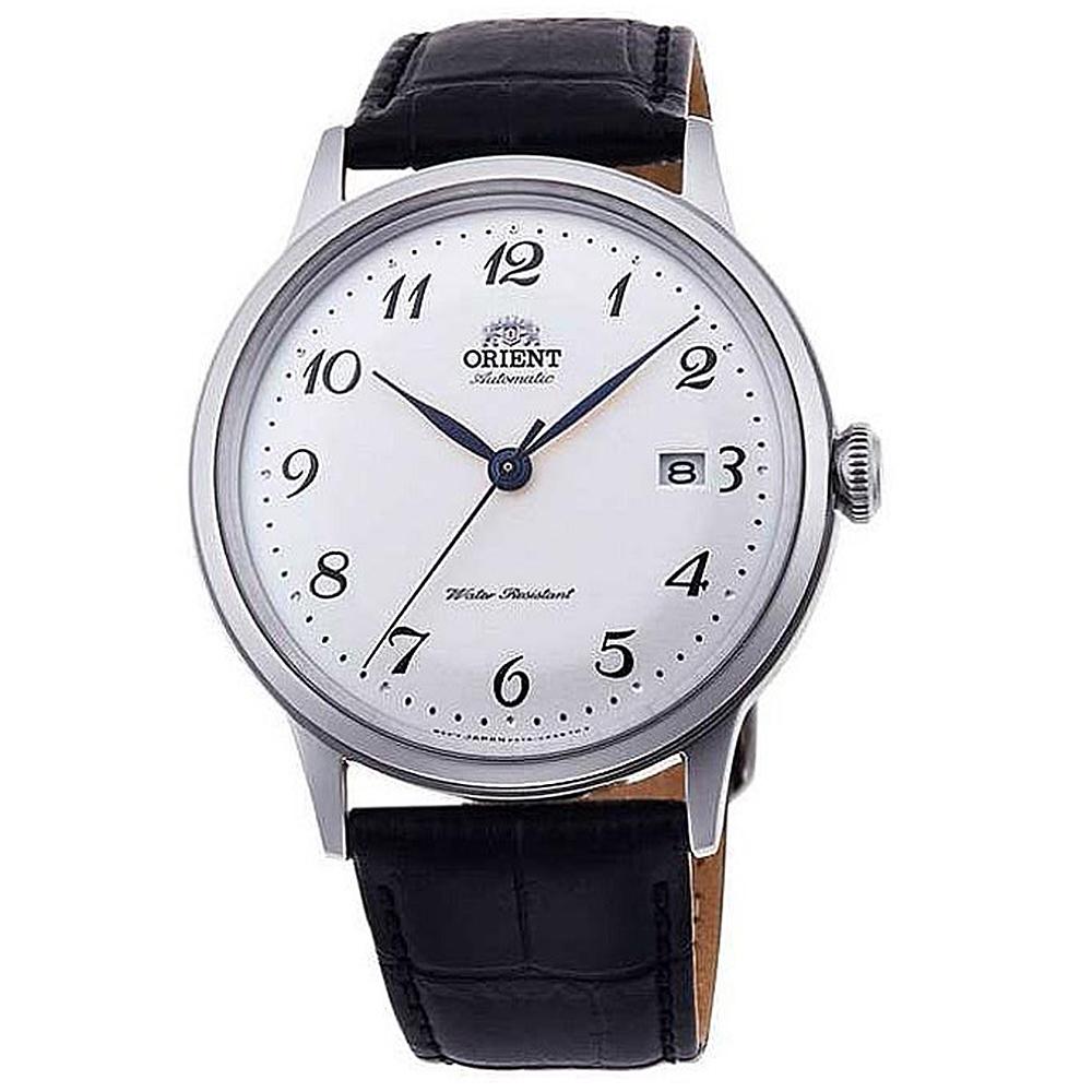 ORIENT  城市光景自動上鍊機械腕錶(RA-AC0003S10B)-白面x40.5mm