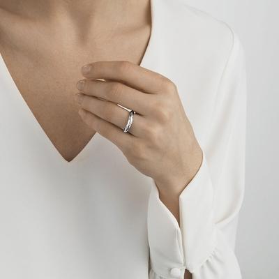 Georg Jensen 喬治傑生OFFSPRING 鑽石 戒指