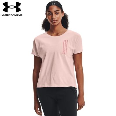 【UNDER ARMOUR】女 Training Graphic短T-Shirt1365777-685