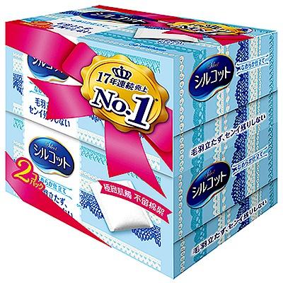 絲花 化妝棉(80+2片 x 2盒/組)