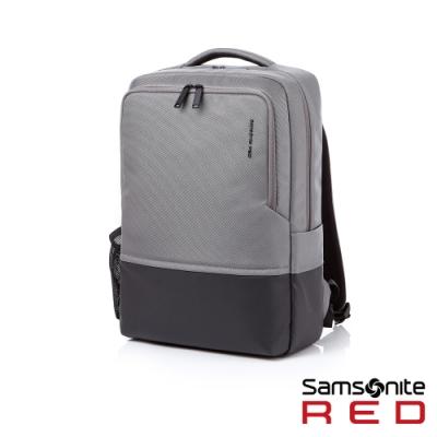 Samsonite RED HOSUE 極簡中性筆電後背包15.6吋(灰)