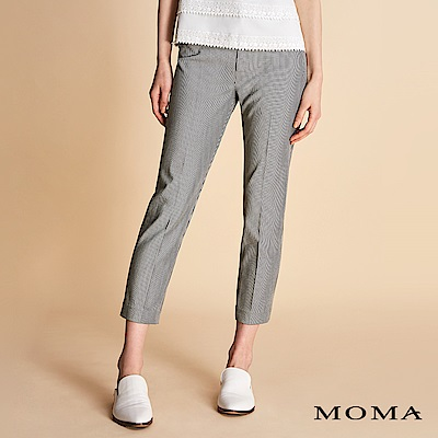 MOMA 暗格紋七分褲