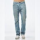 Lee 724 中腰合身直筒牛仔褲/RT-淺藍色-男款
