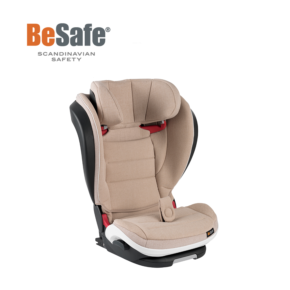BeSafe iZi Flex FIX 成長型兒童汽車安全座椅(丹麥棕)