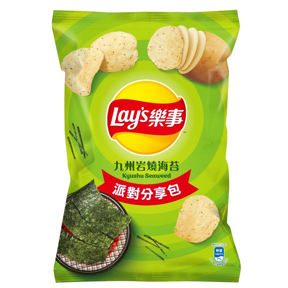 樂事派對分享包-九州岩燒海苔味洋芋片(140g)