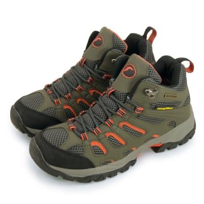 GOODYEAR 固特異 專業多功能郊山戶外鞋 橄綠橘 53368