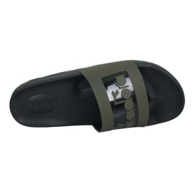 DIADORA 男運動拖鞋-迷彩 海邊 海灘 戲水 游泳 沙灘 DA71168 黑軍綠