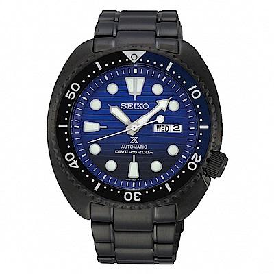 SEIKO 精工 PROSPEX PADI機械愛海洋潛水錶-藍SRPD11J1