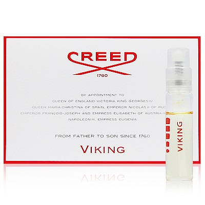 CREED VIKING 維京之海男性香水針管 2ml