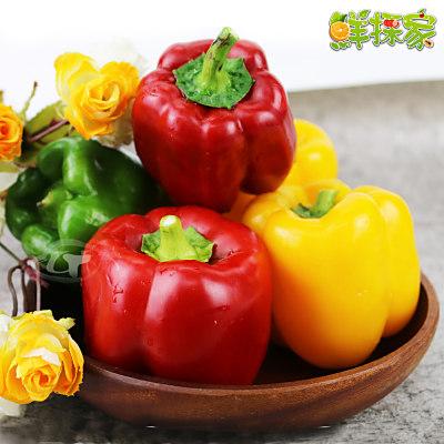鮮採家 特選寶石肉厚鮮甜六角蒂紅椒5台斤(3KG)