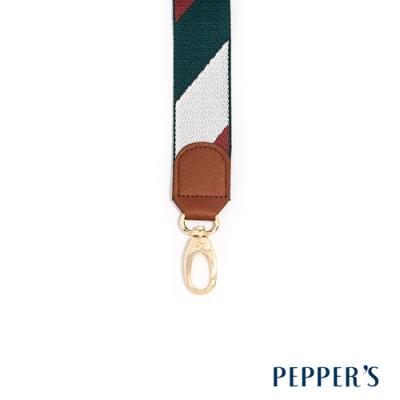 PEPPER S Hope 編織背帶 - 灰綠