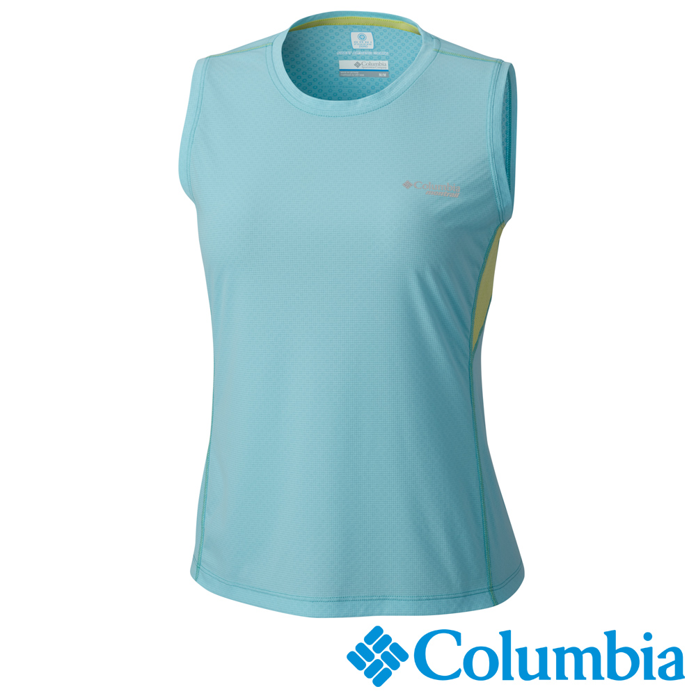 Columbia 哥倫比亞 女-涼感快排野跑背心-UAR21790