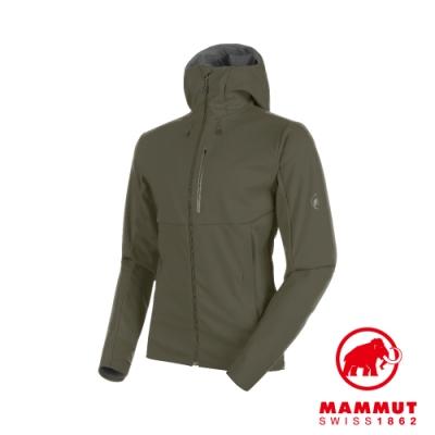 【Mammut 長毛象】Ultimate V 防潑水外套 綠 男款 #1011-00061
