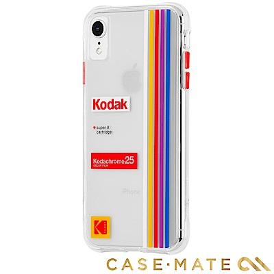 美國 CASE●MATE iPhone XR Kodak 柯達聯名款強悍防摔殼 - 透明
