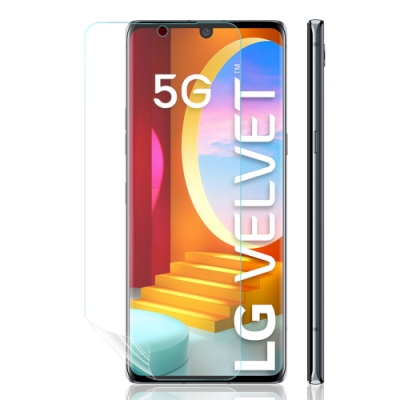 o-one大螢膜PRO LG Velvet 滿版全膠組合系列四入組螢幕保護貼 手機保護貼