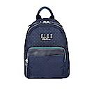 ELLE Active 自由展翼系列-小後背包-藍色