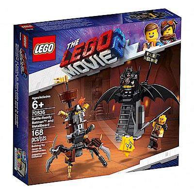 樂高LEGO 玩電影系列 - LT70836 Battle-Ready Batman an