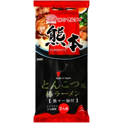 Marutai丸太 熊本豚骨風味拉麵(182g)