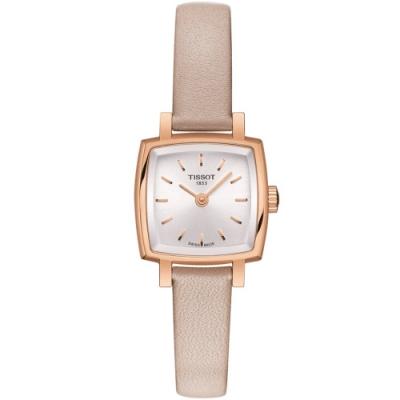 TISSOT天梭 LOVELY SQUARE 小公主系列手錶(T0581093603100)-20mm
