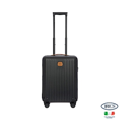 BRICS 義大利 CAPRI 19.5吋 黑色 拉鍊登機箱