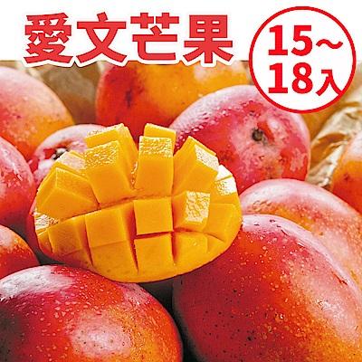[甜露露]愛文芒果L 15-18入宅配盒(9.5斤)