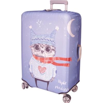 新一代 貓頭鷹 行李箱保護套(21~24吋行李箱適用)