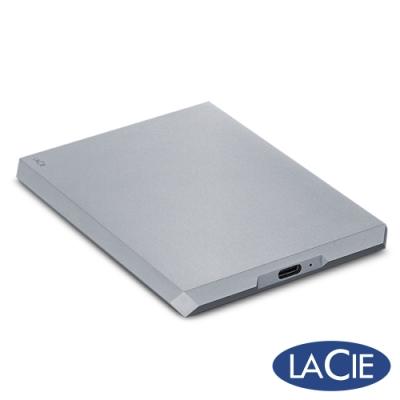 LaCie Mobile Drive USB-C 2TB 外接硬碟-太空灰